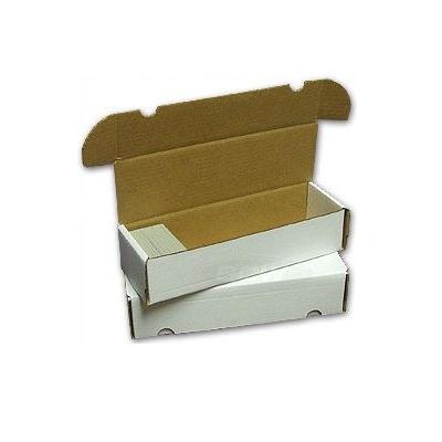Boîte de rangement en carton pour 1000 cartes