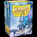 100 Protège-cartes Dragon Shield Matte Bleu Ciel