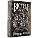 52 cartes BICYCLE Club Tattoo