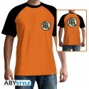 T-Shirt DRAGON BALL Kame Symbol homme orange