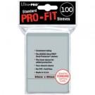 Double sleeves Pro Fit Ultra Pro par 100