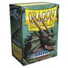 100 Protège-cartes Dragon Shield Vert