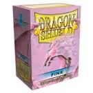 100 Protège-cartes Dragon Shield Rose