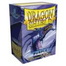 100 Protège-cartes Dragon Shield Violet