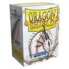 100 Protège-cartes Dragon Shield Blanc
