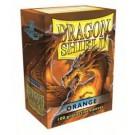 100 Protège-cartes Dragon Shield Orange