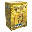 100 Protège-cartes Dragon Shield Jaune