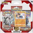 Pack 3 Boosters Pokémon SL4 Invasion Carmin Lucario