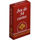 54 Cartes Gauloise Rouge