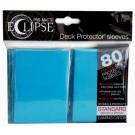 80 Protège-cartes Eclipse Pro-Matte bleu ciel