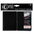 80 Protège-cartes Eclipse Pro-Matte noir