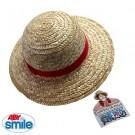 Chapeau de paille Luffy taille enfant