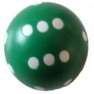 Dé de 6 Rond 19mm vert
