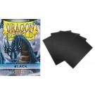 50 Protège-cartes Dragon Shield mini Noir
