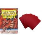 50 Protège-cartes Dragon Shield mini Rouge