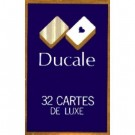 32 Cartes Belote Ducale Bleu