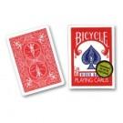 52 Cartes Poker Bicycle Jumbo rouge