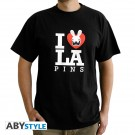 T-shirt Lapins Crétins Love Lapin Homme
