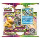 Pack 3 Boosters Pokémon Épée et Bouclier Voltage Éclatant Larméleon