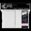 80 Protège-cartes Eclipse Pro-Matte blanc