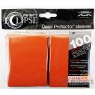 80 Protège-cartes Eclipse Pro-Matte orange