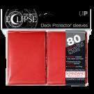 80 Protège-cartes Eclipse Pro-Matte rouge