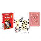 52 Cartes Poker Modiano rouge
