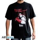 T-shirt Street Fighter Ryu Black