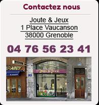 Contactez nous ou venez à notre boutique à Grenoble